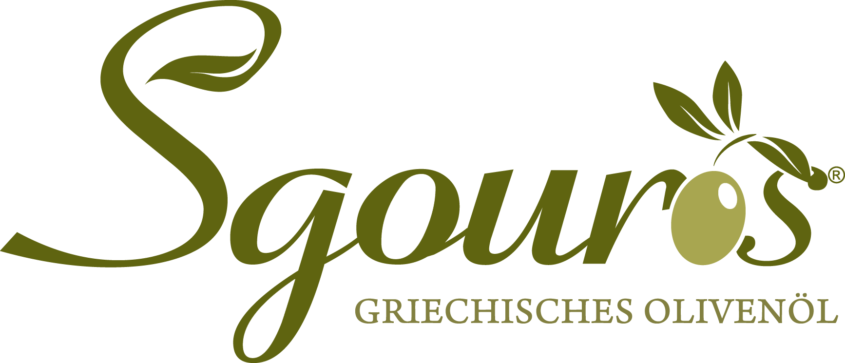 Sgouros Olivenöl-Logo